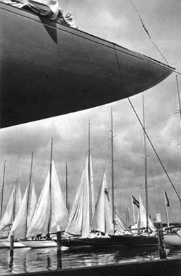Sailing Ships in the Harbour, Olympia 1936